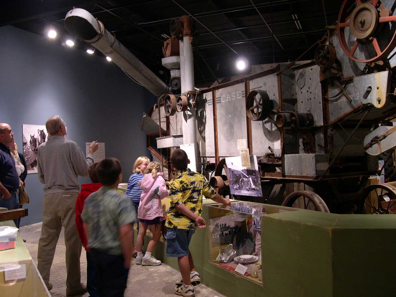 The *Farm Life* exhibition allows visitors to explore agriculture in the Chippewa Valley. Image courtesy of the Chippewa Valley Museum.