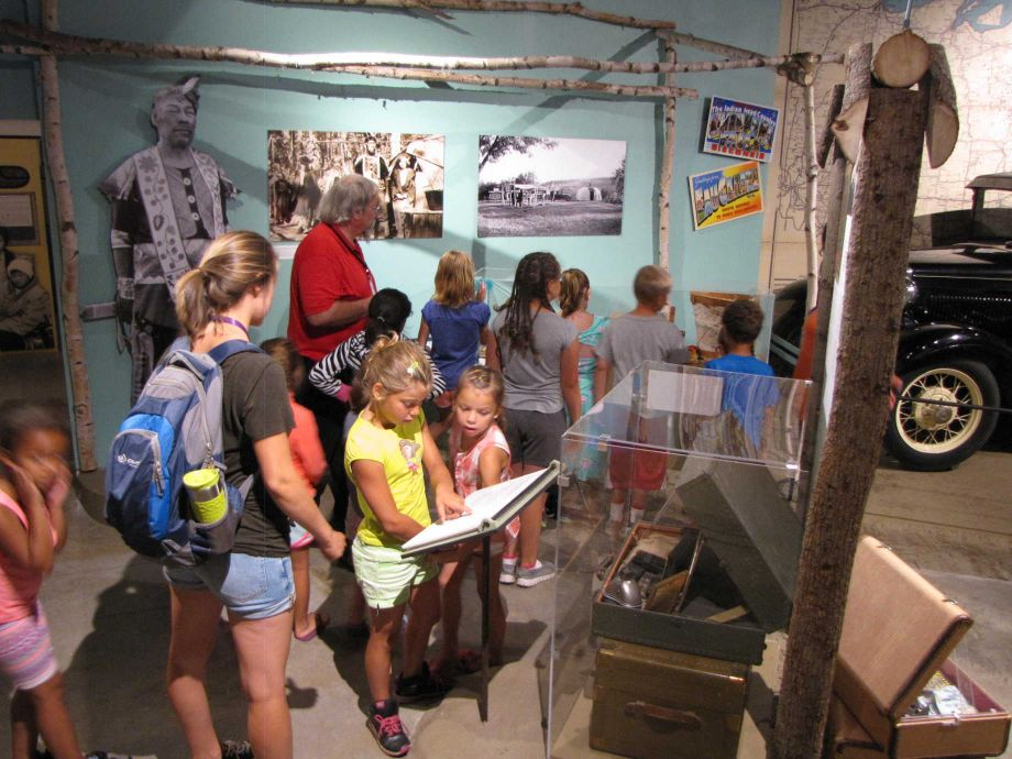 Funding from the National Endowment for the Humanities helped the Chippewa Valley Museum develop *Changing Currents: Reinventing the Chippewa Valley.* Image courtesy of the Chippewa Valley Museum.