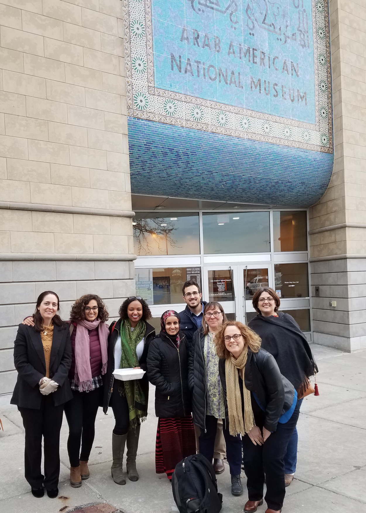 Scholars convene to participate in community discussions about developing a new exhibit for the museum. Image courtesy Arab American National Museum.