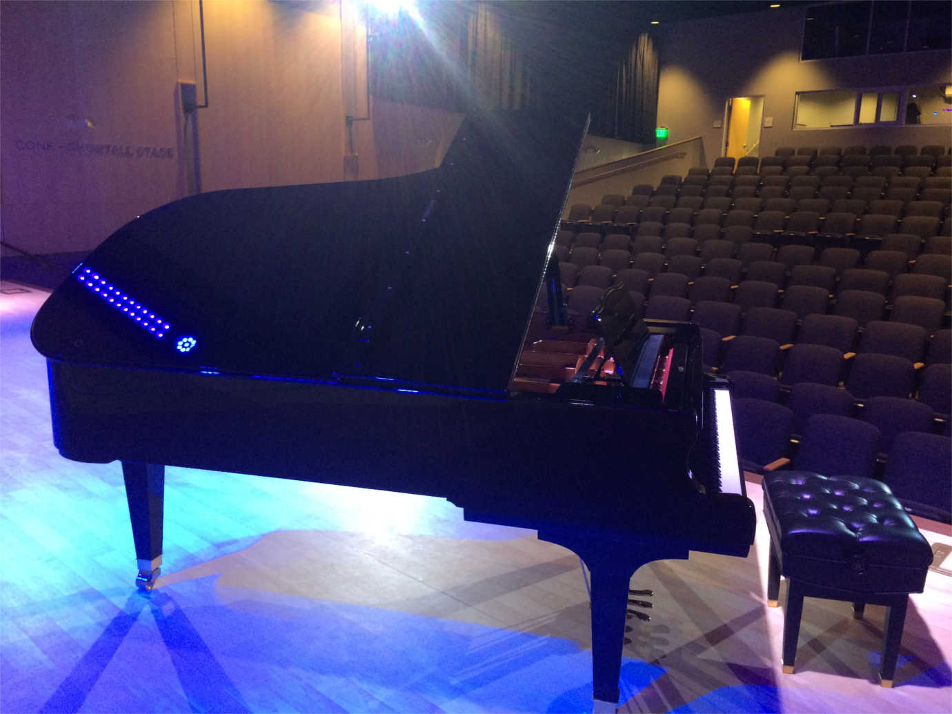 The Longmont Museum's new auditorium makes it possible for the community to host concerts. Image courtesy of the Longmont Museum.