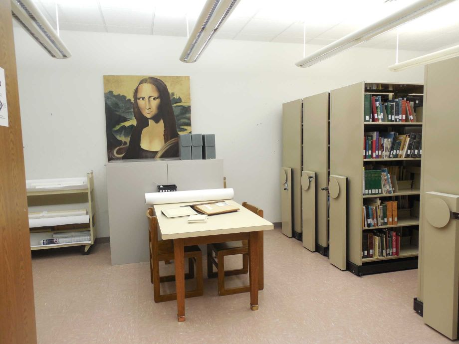 NEH funding helped the Stillwater Public Library establish its special collections and properly store its archival material. Image courtesy of the Stillwater Public Library.