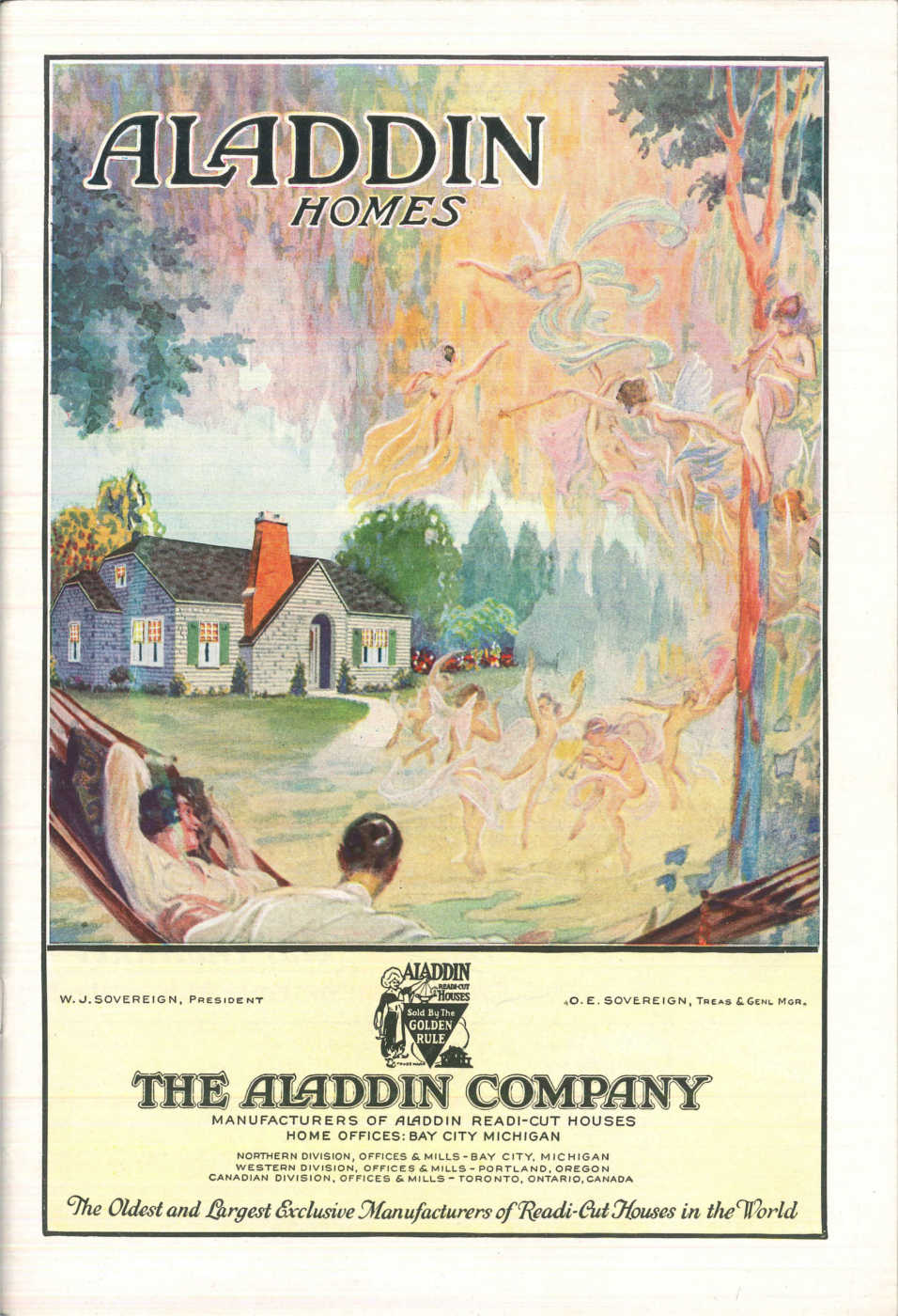 An Aladdin Company Catalog c. 1931. Image courtesy of the Clarke Historical Library at Central Michigan University.