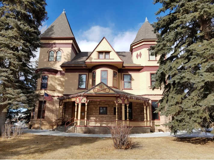 The historic Victorian mansion that houses the Laramie Plains Museum. Photo Courtesy of Laramie Plains Museum.