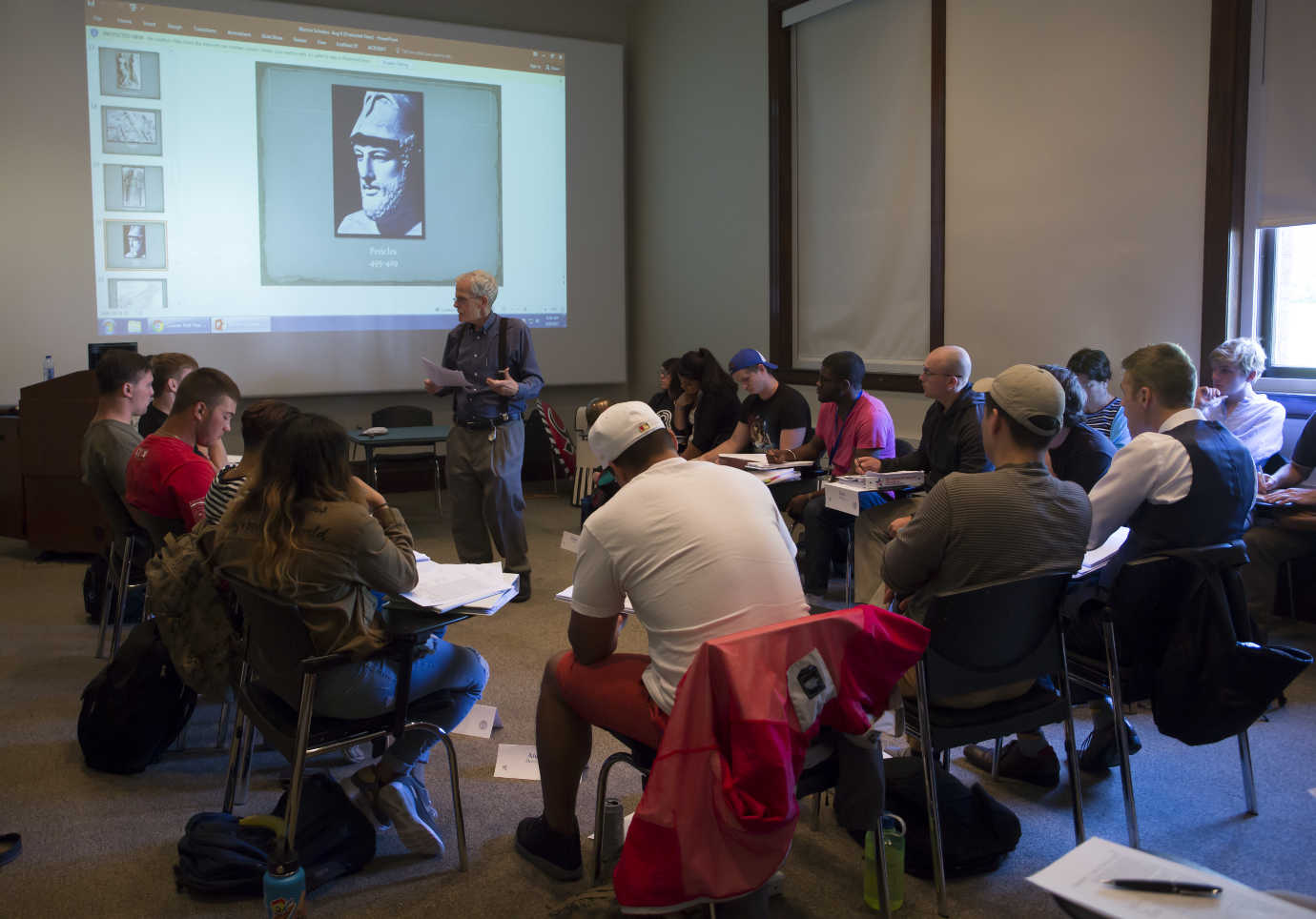 """The Warrior-Scholar Project prepares veterans for college through an academically-rigorous """"boot camp"""" experience. Image courtesy of the Warrior-Scholar Project."""