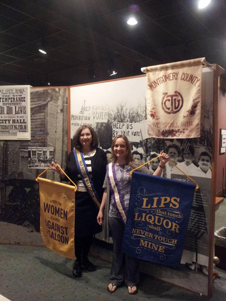 Visitors explore the exhibition *Spirited: Prohibition in America* at the Wichita-Sedgwick County Historical Museum's grand opening. Image courtesy of the Wichita-Sedgwick County Historical Museum.