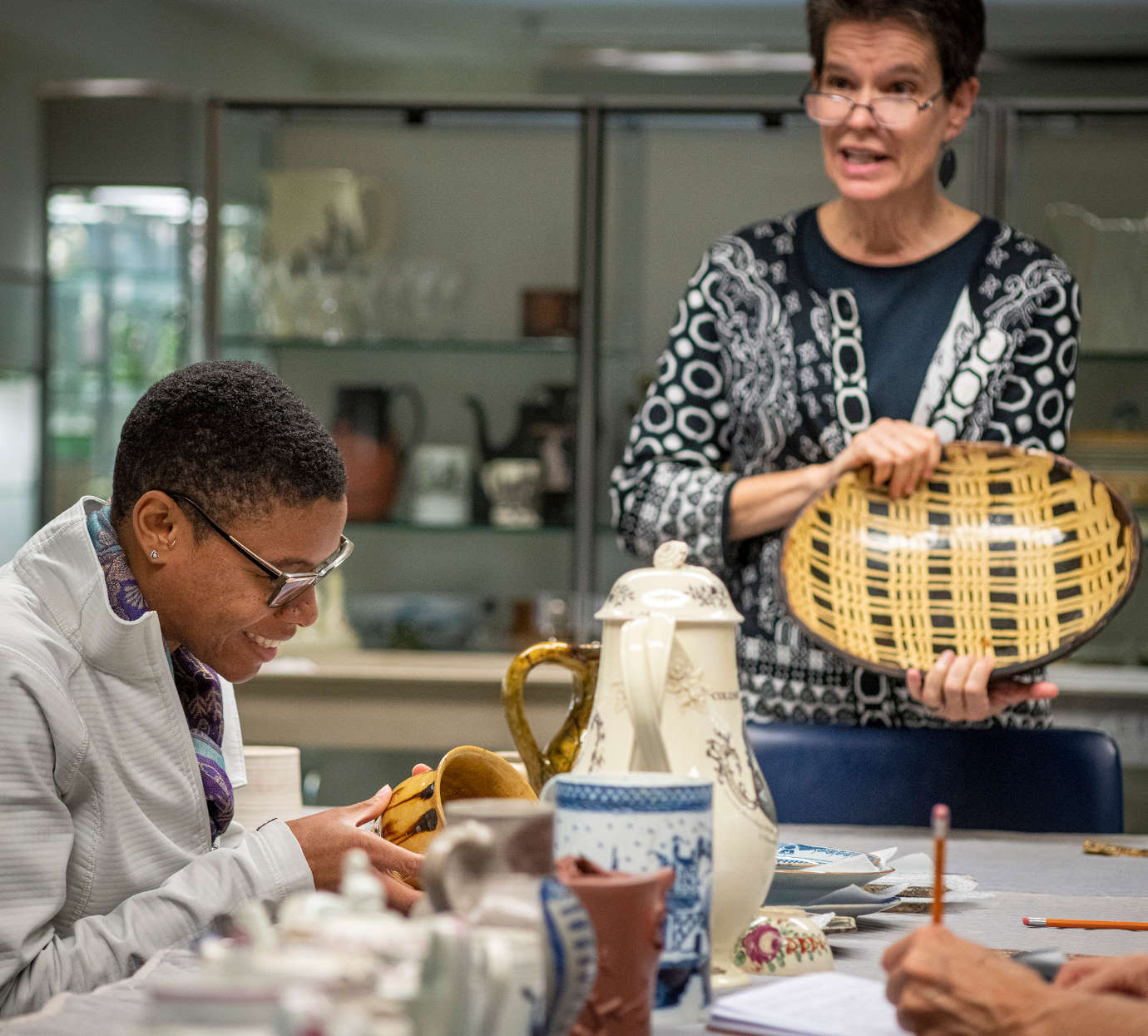 Through workshops, Winterthur builds the capacity of conservators more broadly, promoting best practices and knowledge acquisition in a way that has an impact far beyond the bounds of the estate. Image courtesy of Winterthur.