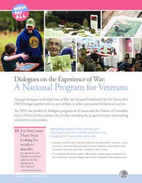 Dialogues on the Experience of War: A National Program for Veterans