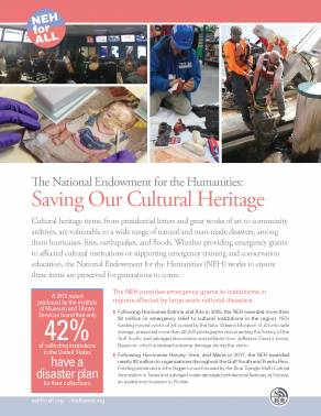 Saving our Cultural Heritage