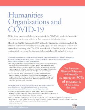The Humanities and COVID-19