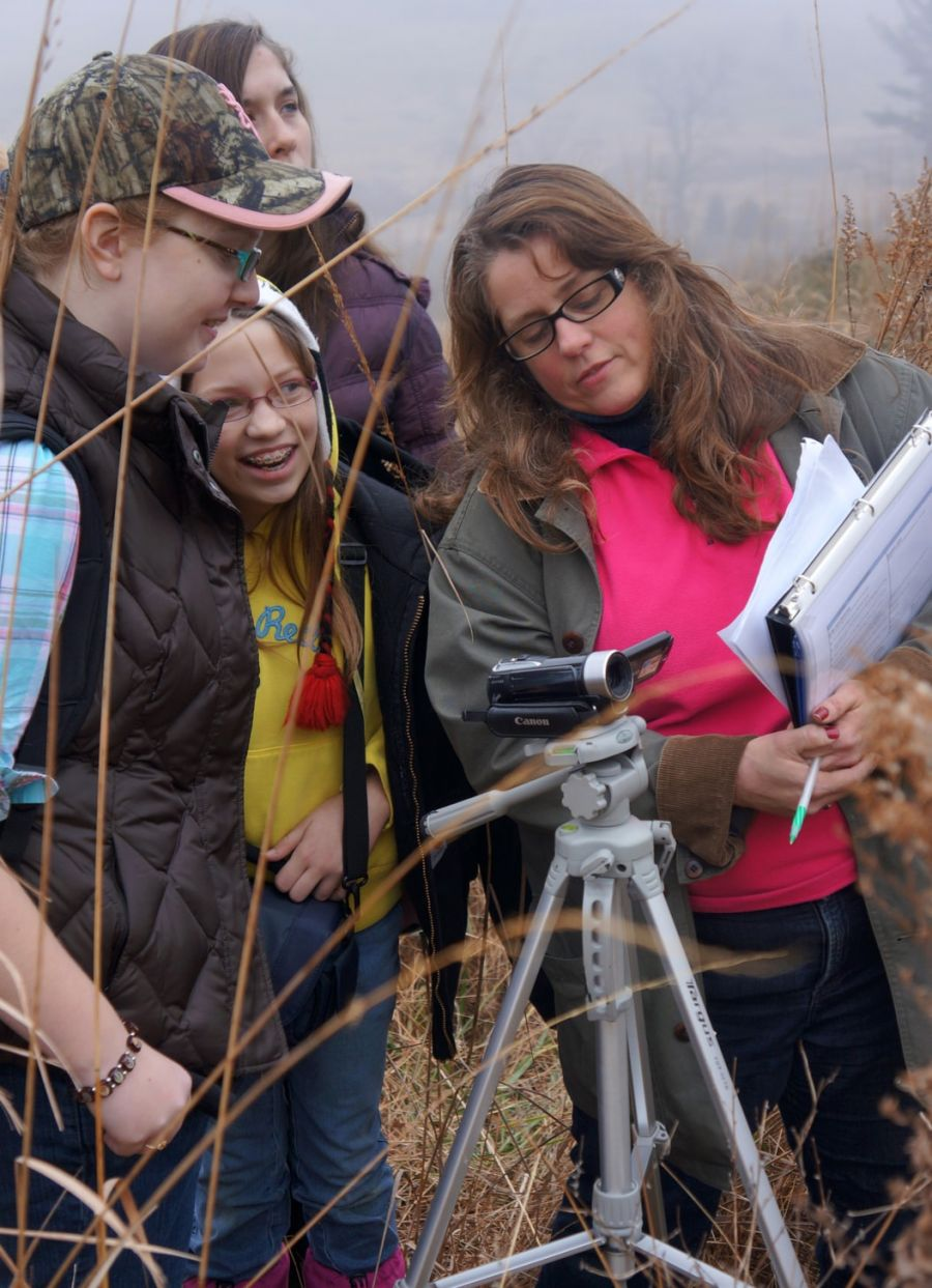 In Of the Student, By the Student, For the Student, middle schoolers create films on-site at national parks. Image courtesy of Journey Through Hallowed Ground.