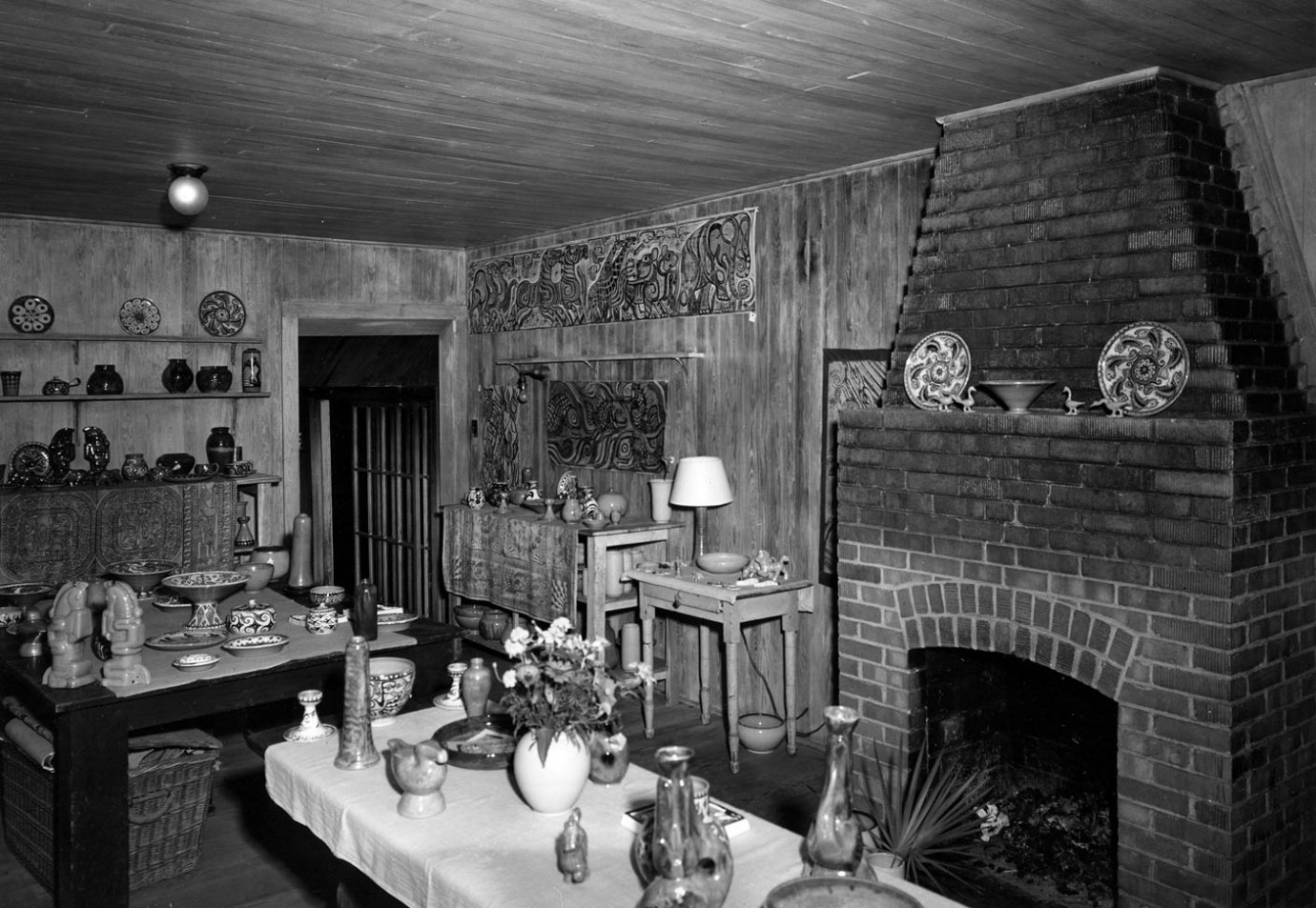 The Display Room At Shearwater Pottery, Ocean Springs, MS, Offered A  Variety Of Shapes And Designs, All Of Them The Original Creations Of ...